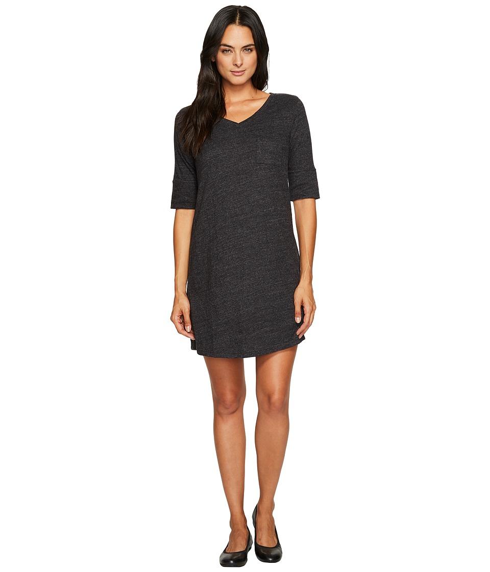 Prana - Matilda Ringer Dress (Solid Black) Womens Dress