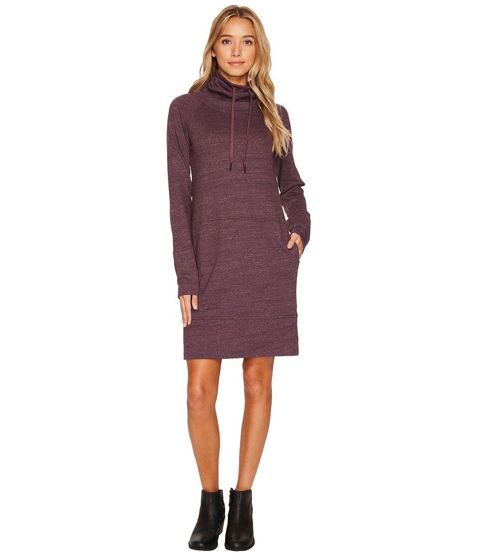 Prana Ellis Dress (Dark Plum) Women