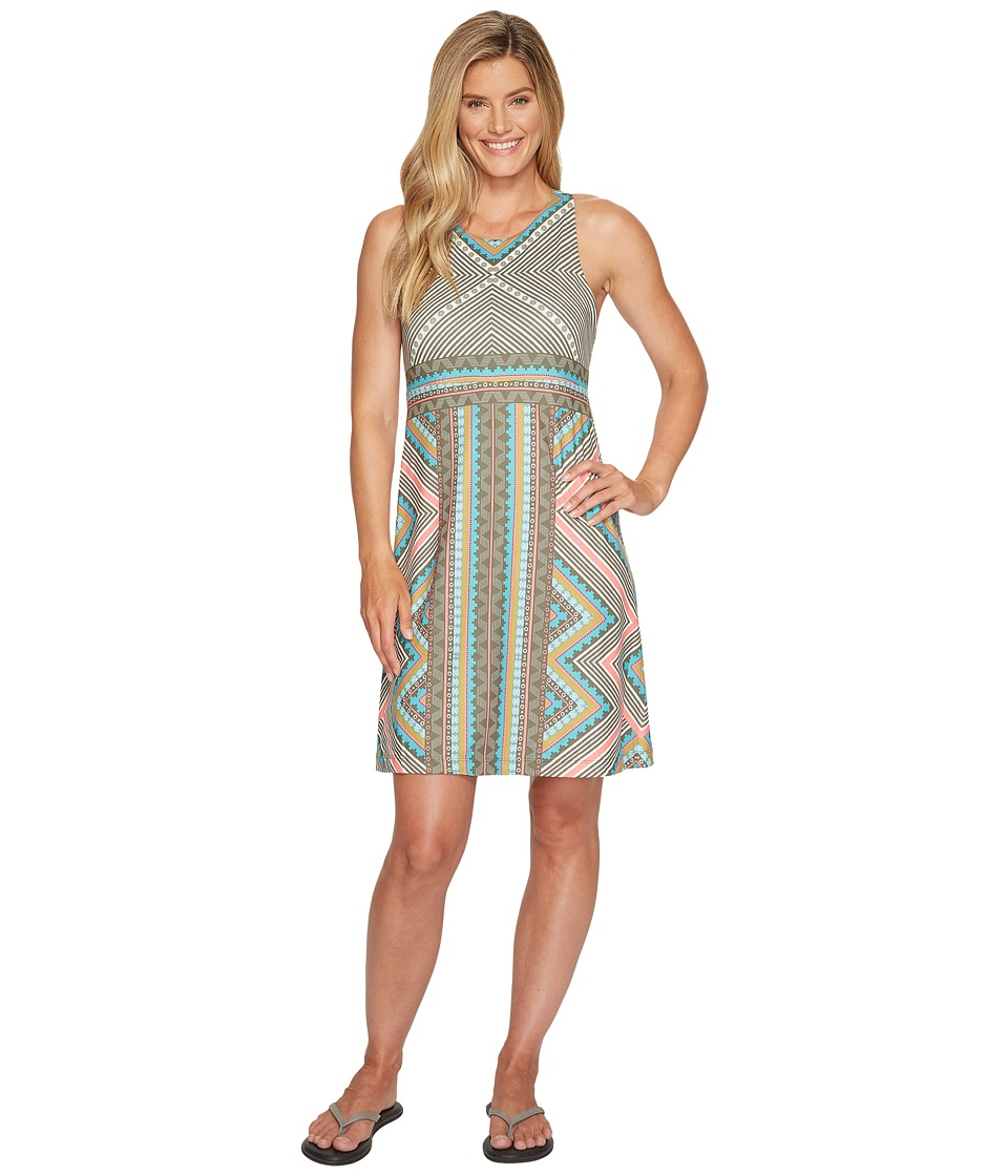 Prana Ariel Dress (Green Taos) Women