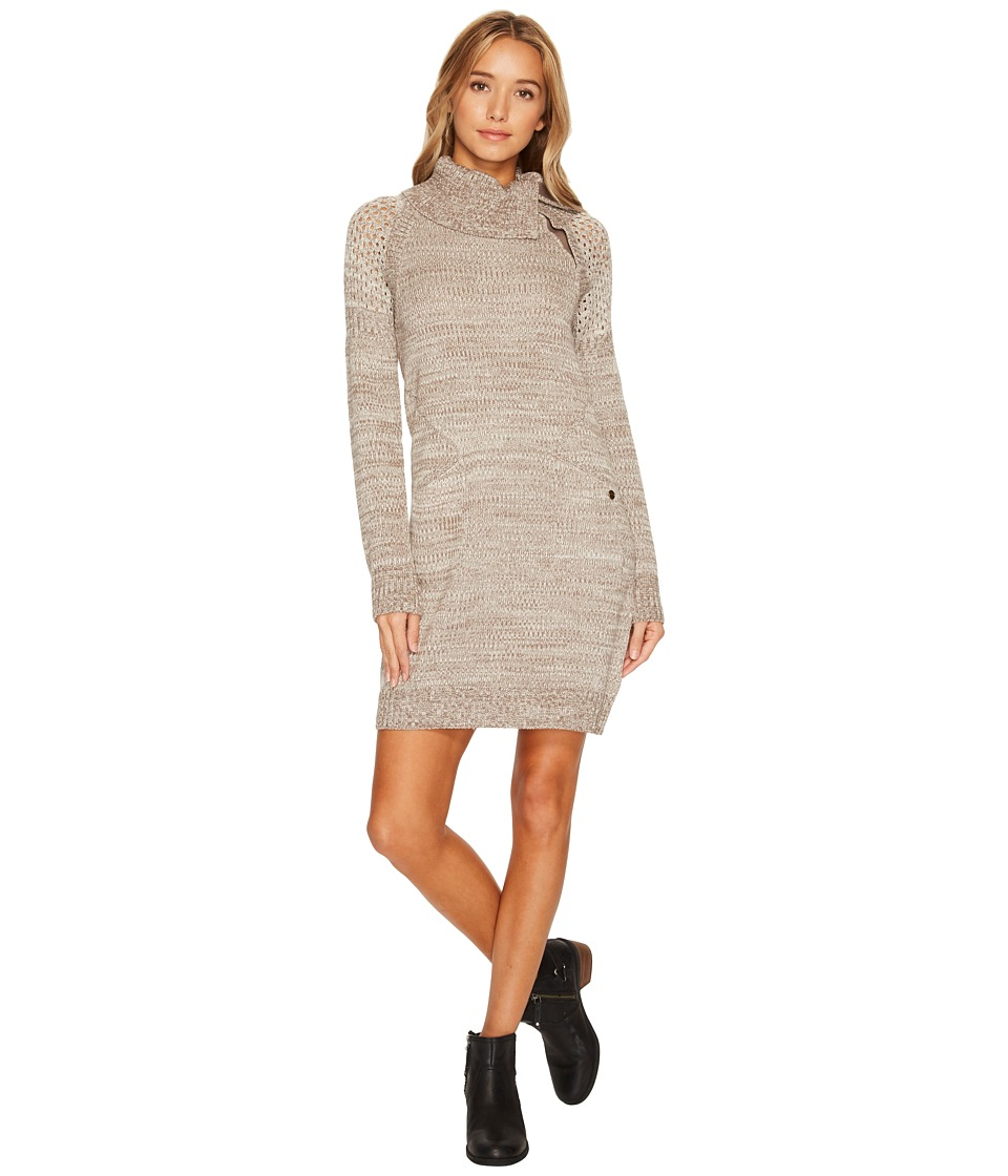 Prana Archer Dress (Earth Grey) Women