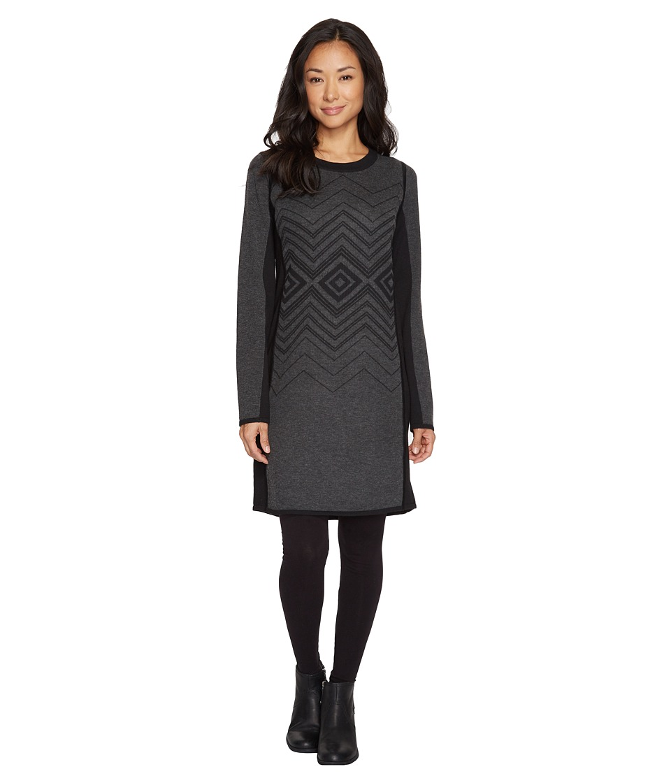 Prana Delia Dress (Charcoal) Women