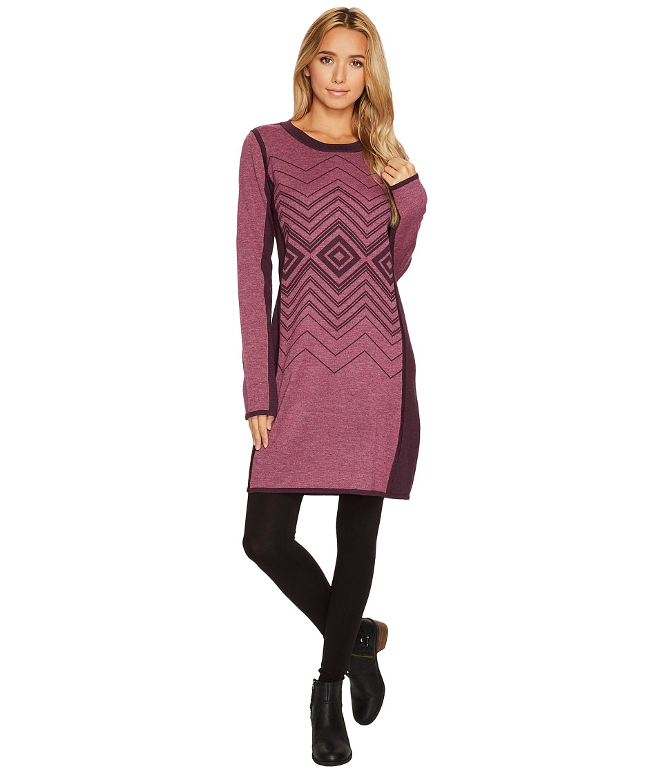 Prana Delia Dress (Sangria) Women