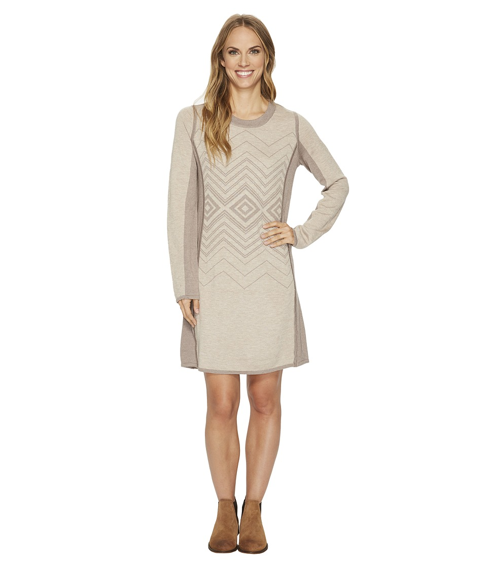 Prana Delia Dress (Stone) Women