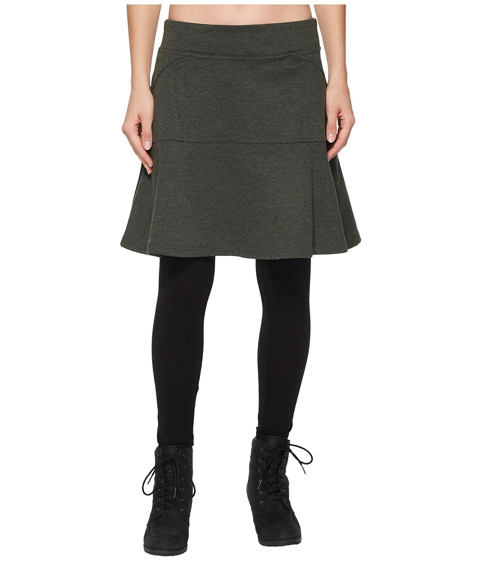 Prana Gianna Skirt (Dark Olive) Women