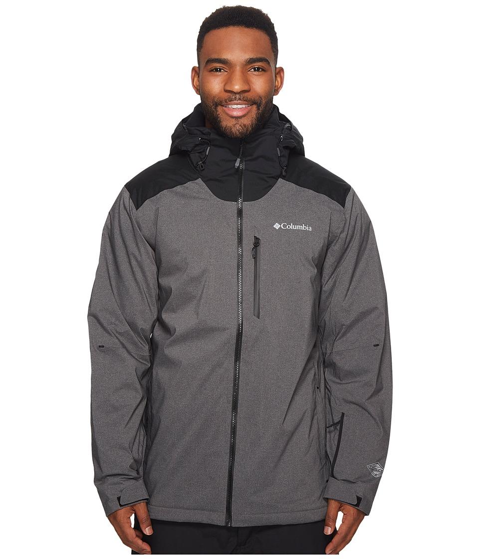 Columbia Lost Peak Jacket (Black Heather) Men