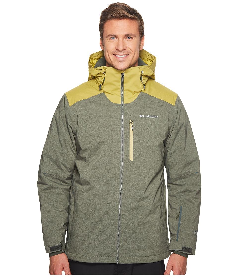 Columbia Lost Peak Jacket (Gravel Heather/Peppercorn) Men