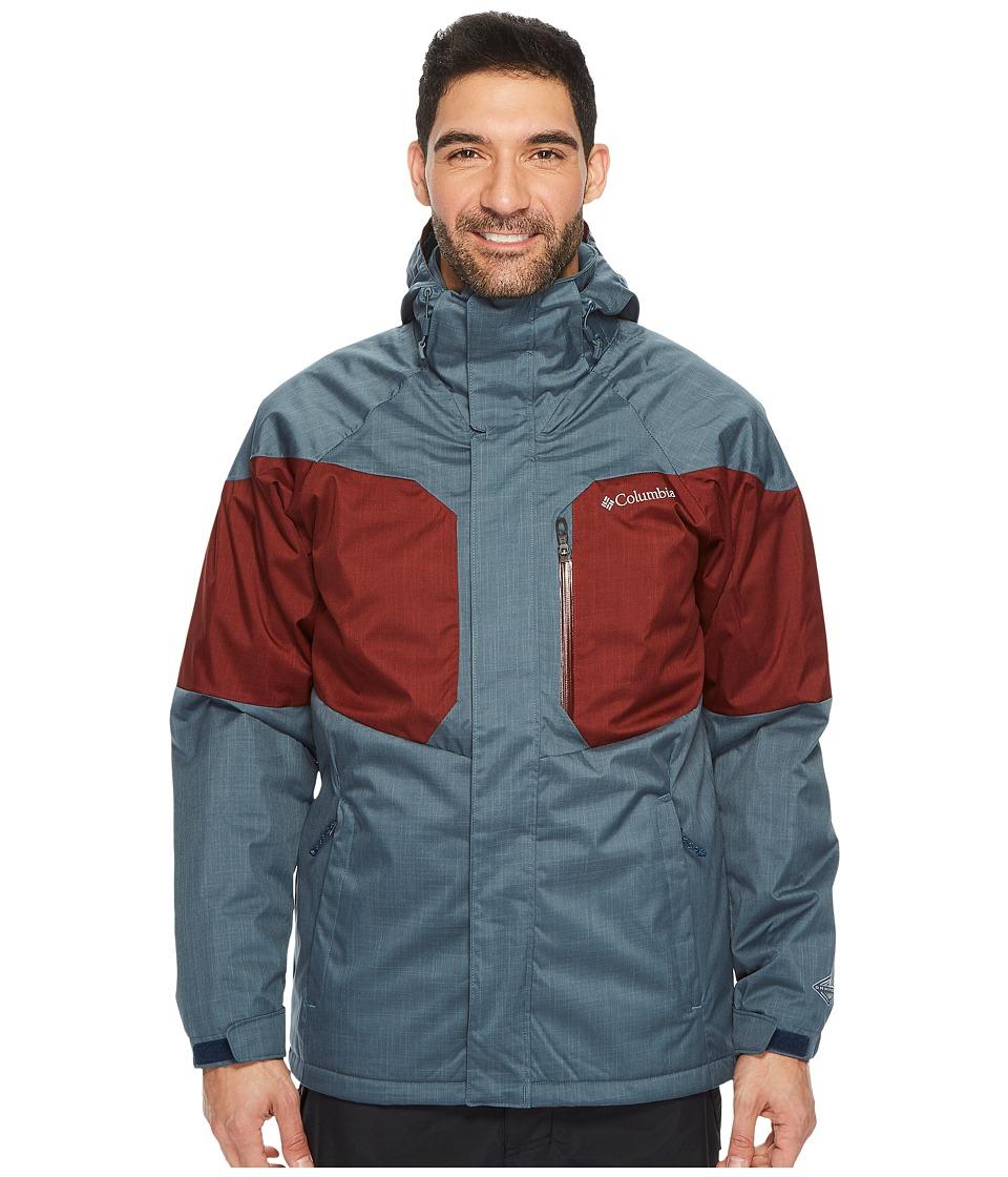 Columbia Alpine Actiontm Jacket (Mystery/Deep Rust) Men