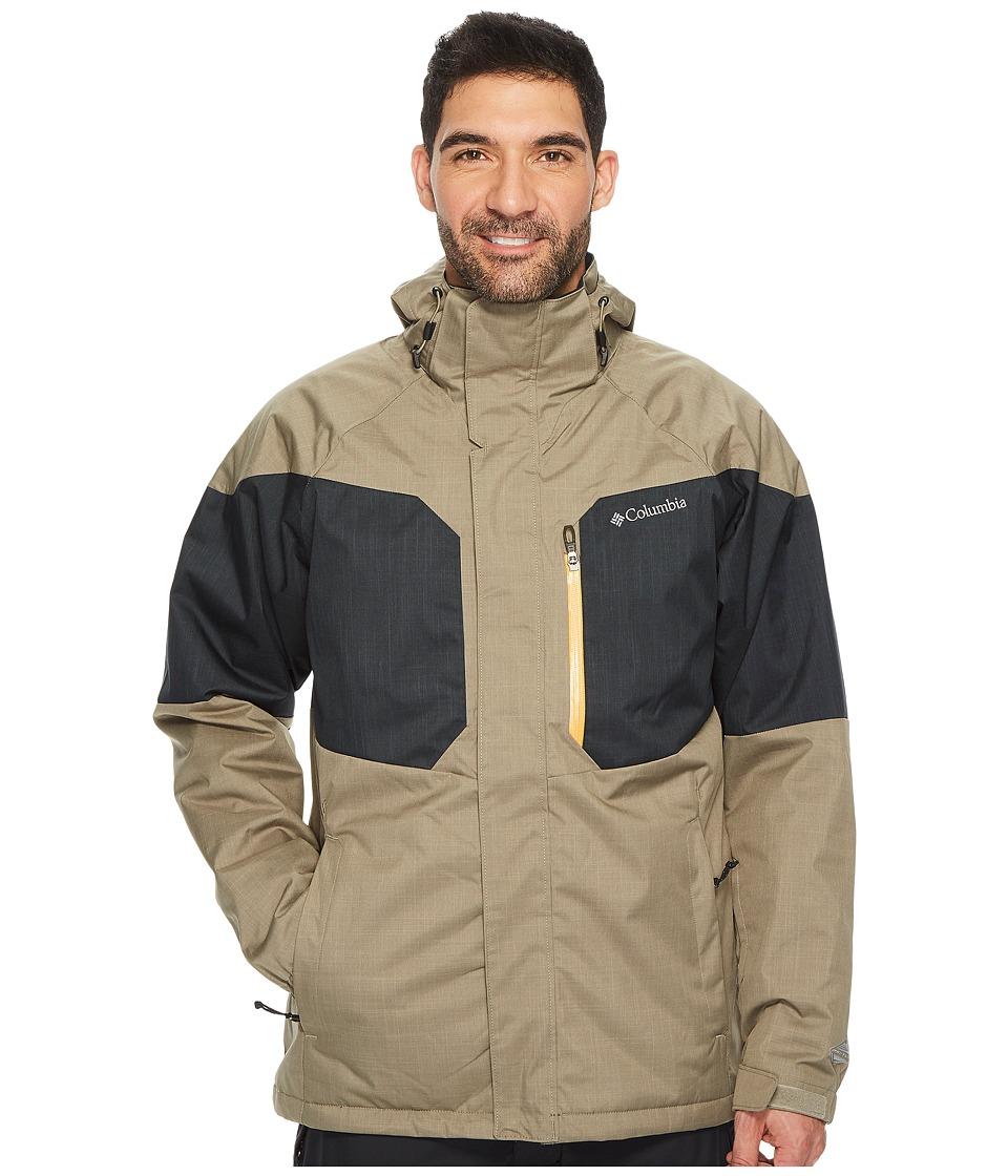 Columbia Alpine Actiontm Jacket (Sage/Black/Solarize) Men