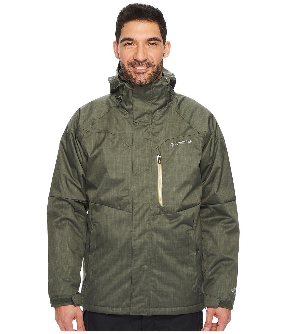 Columbia Alpine Actiontm Jacket (Gravel/Peppercorn) Men