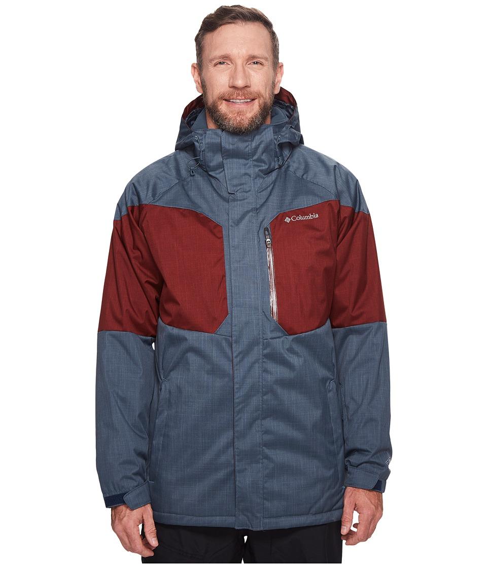 Columbia Big Tall Alpine Actiontm Jacket (Mystery/Deep Rust) Men