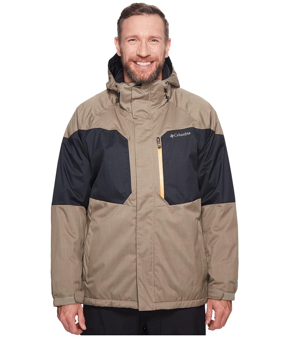 Columbia Big Tall Alpine Actiontm Jacket (Sage/Black/Solarize) Men