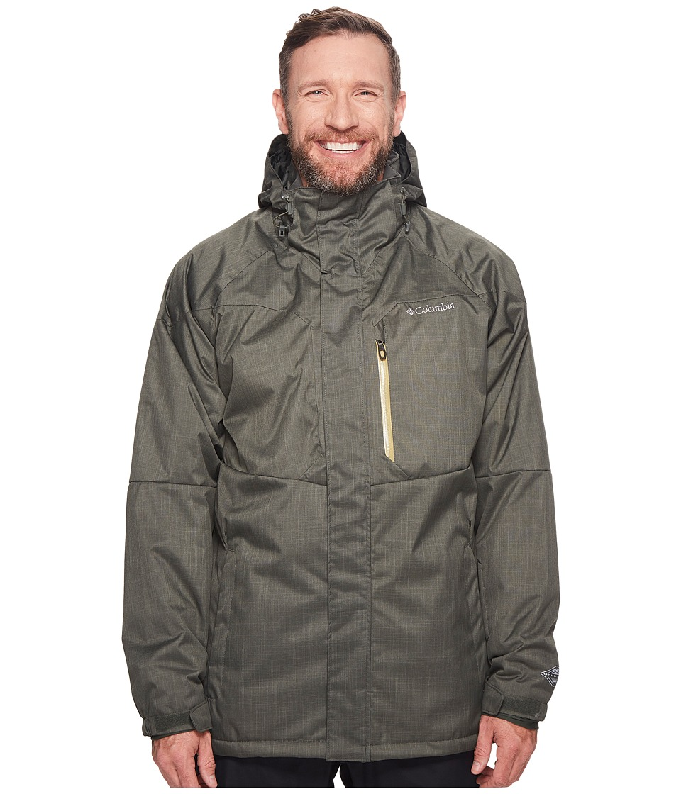 Columbia Big Tall Alpine Actiontm Jacket (Gravel/Peppercorn) Men