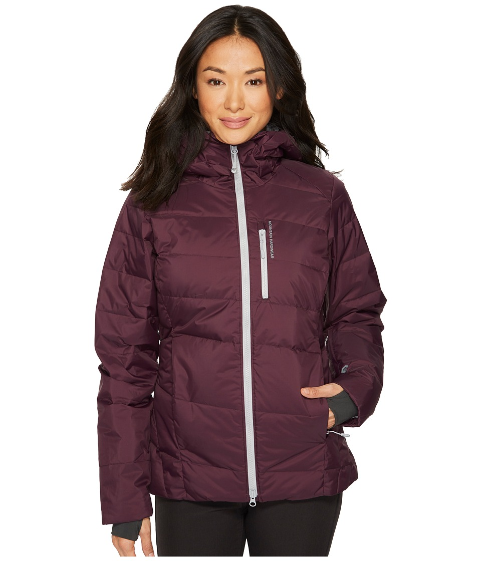 Mountain Hardwear Snowbasin Down Jacket (Dark Tannin) Women
