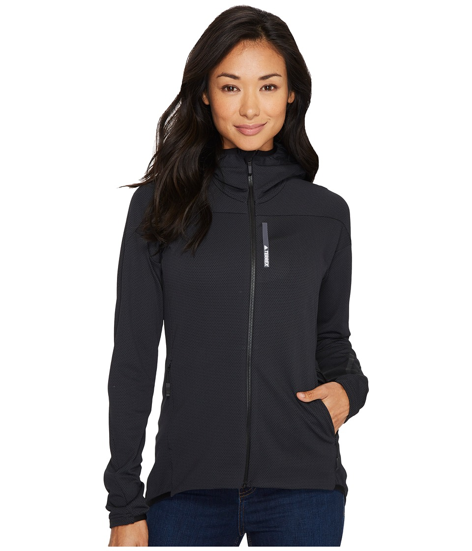 adidas Outdoor Terrex Radical Fleece Jacket (Black) Women