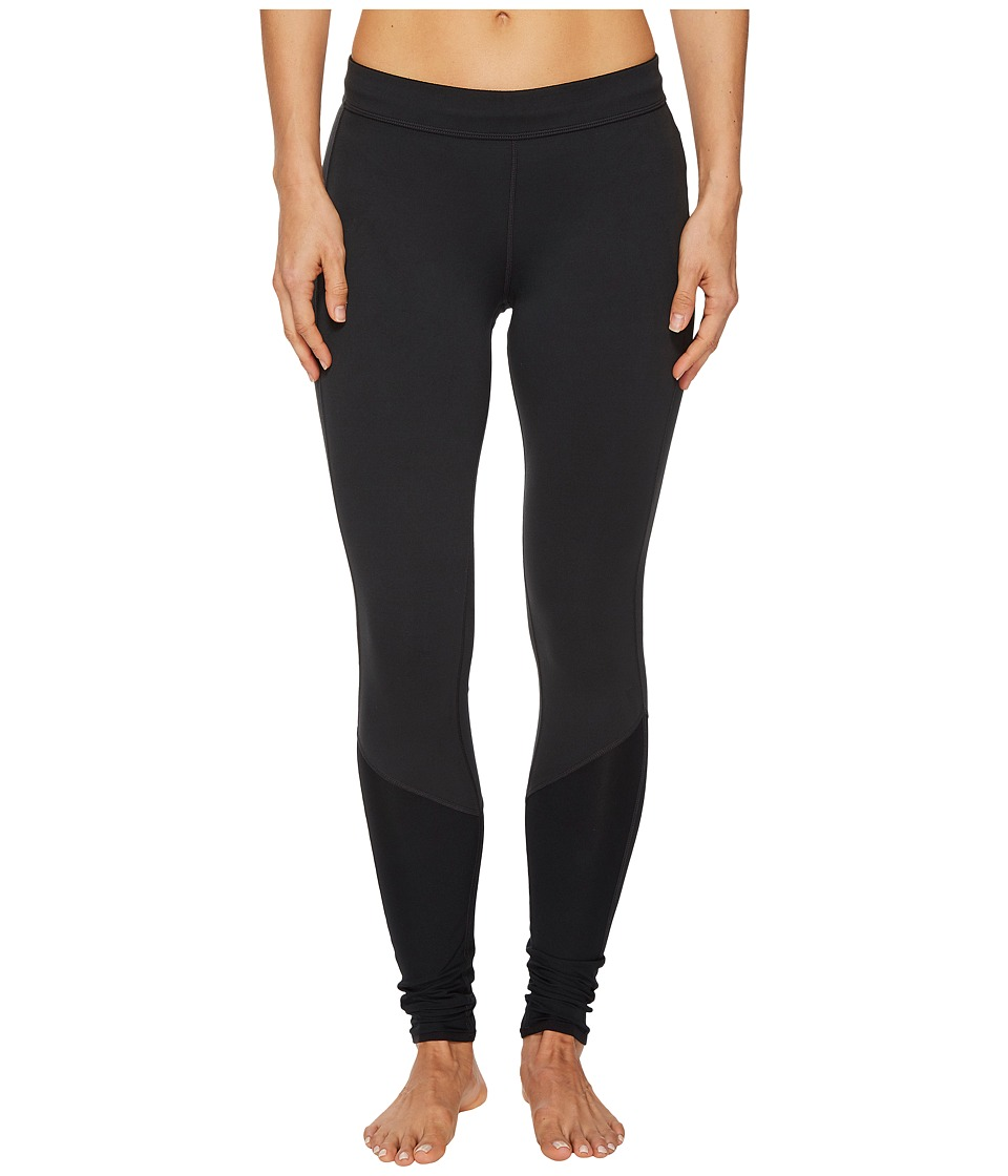Mountain Hardwear Butterlicious Stripe Tights (Black) Women