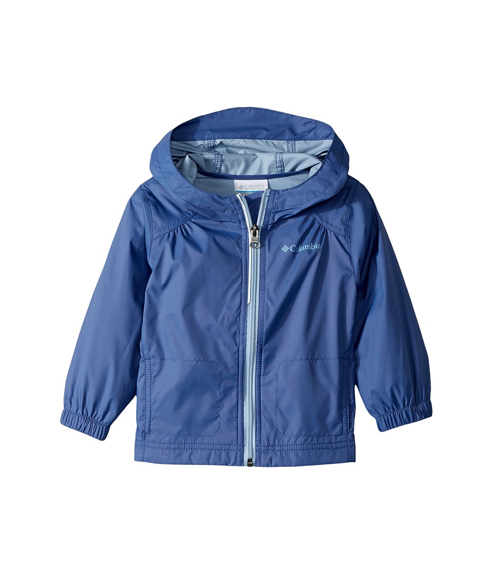 Columbia Kids Switchbacktm Rain Jacket (Toddler) (Eve/Faded Sky) Girl