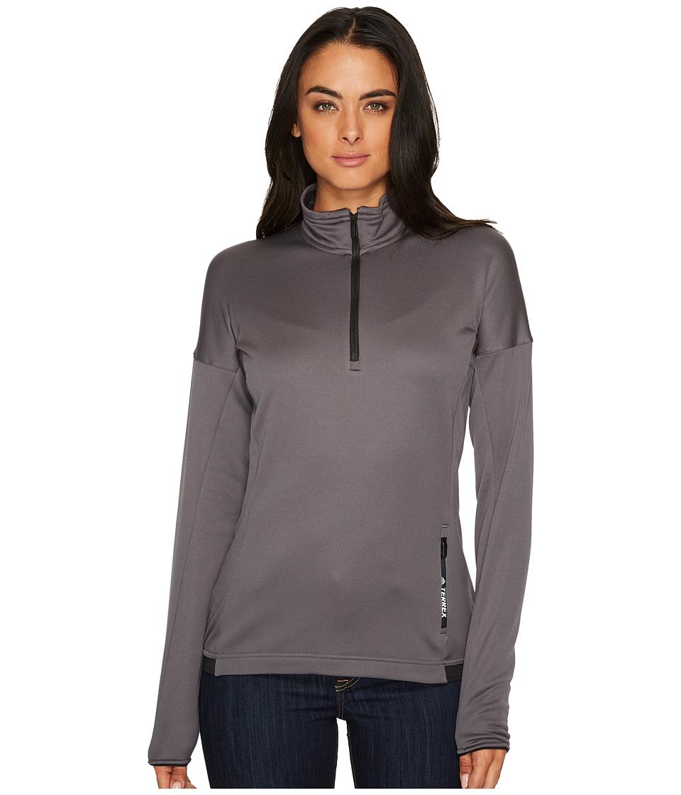 adidas Outdoor - Terrex Tivid 1/2 Zip Fleece Top