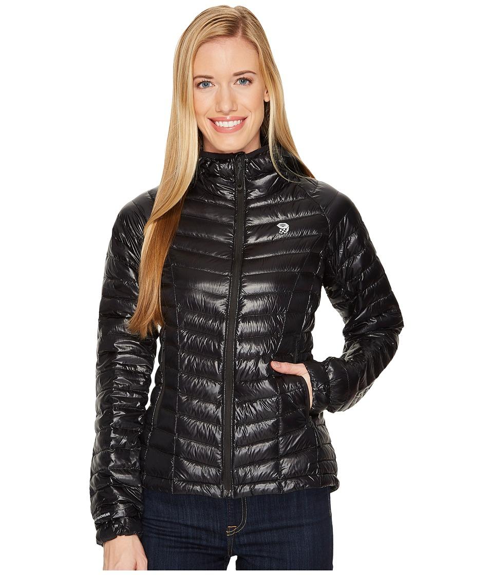 Mountain Hardwear - Ghost Whisperertm Down Hooded Jacket (Black 1) Womens Coat