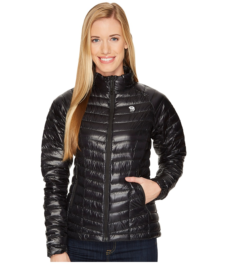 Mountain Hardwear - Ghost Whisperertm Down Jacket (Black 1) Womens Coat