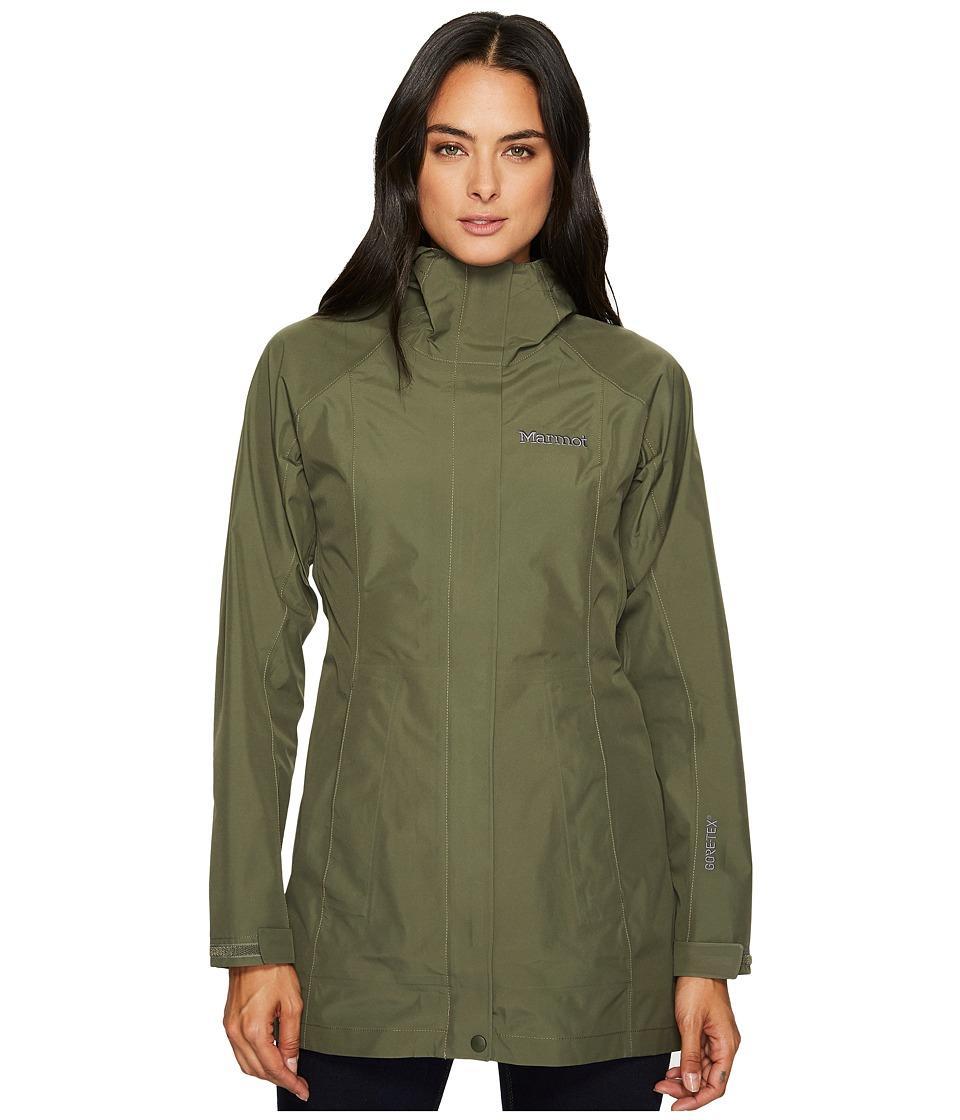 Marmot Essential Jacket (Beetle Green) Women's Coat