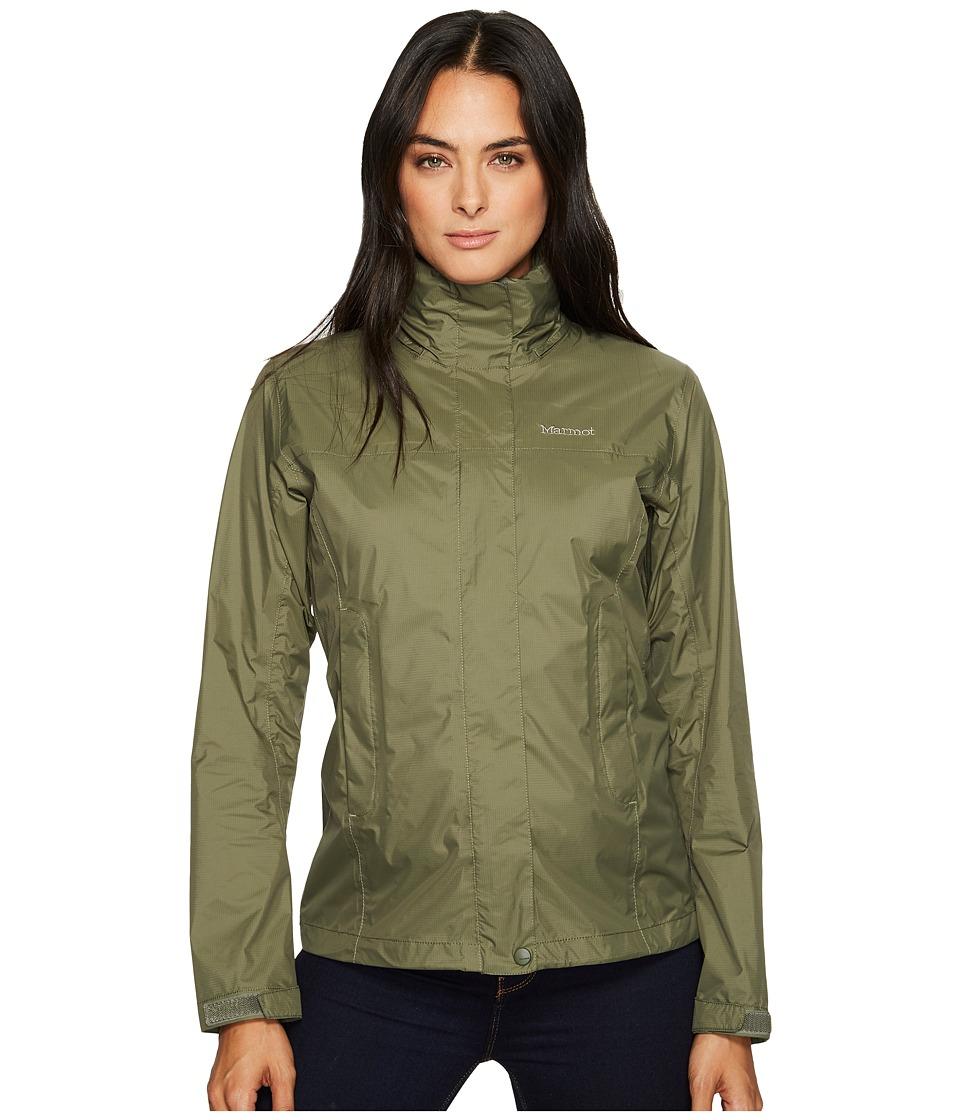 Marmot PreCip(r) Jacket (Beetle Green) Women