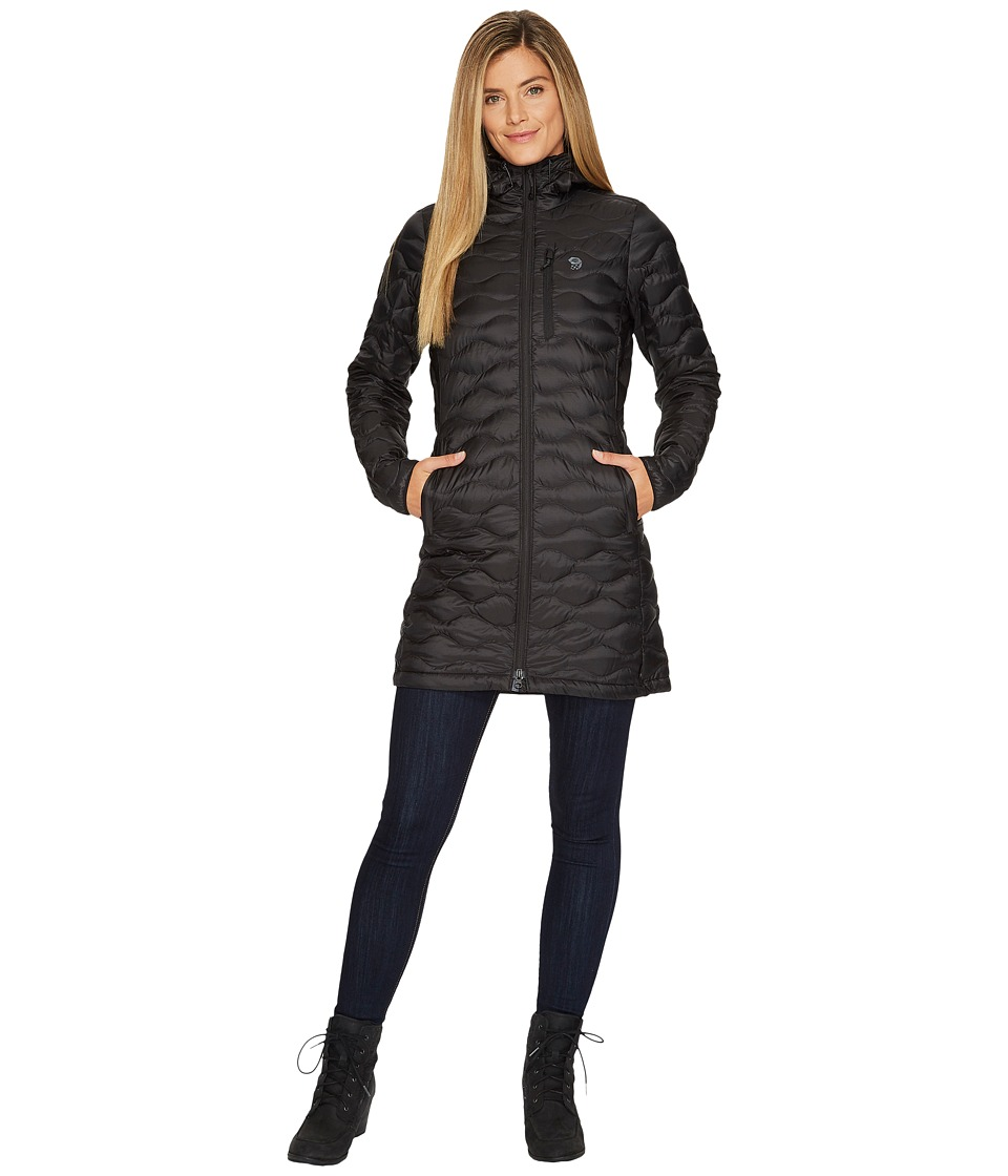 Mountain Hardwear Nitrous Hooded Down Parka (Black) Women