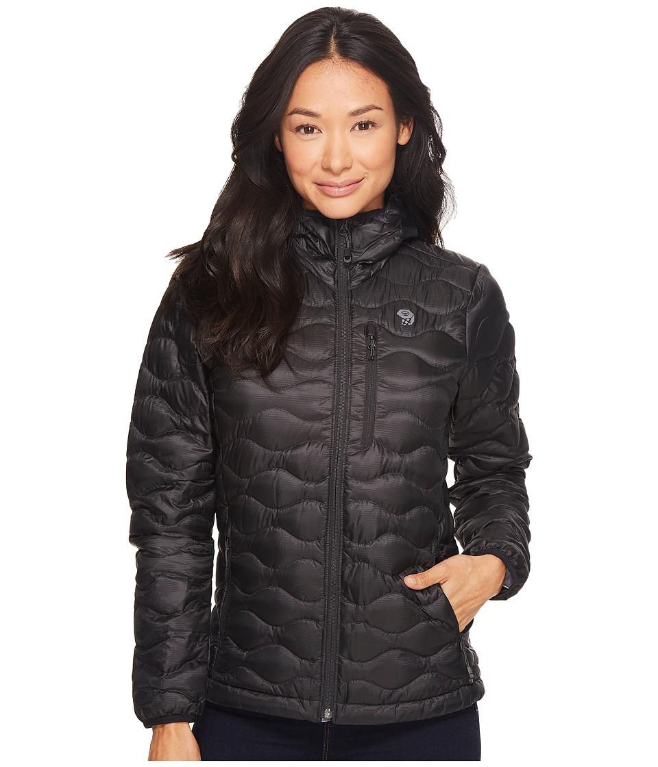 Mountain Hardwear Nitrous Hooded Down Jacket (Black) Wome...