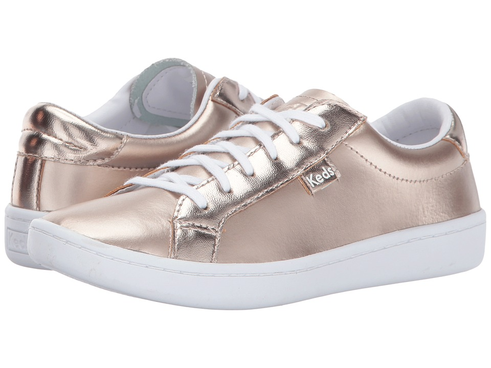 Keds Kids Ace (Little Kid/Big Kid) (Rose Gold) Girl's Shoes