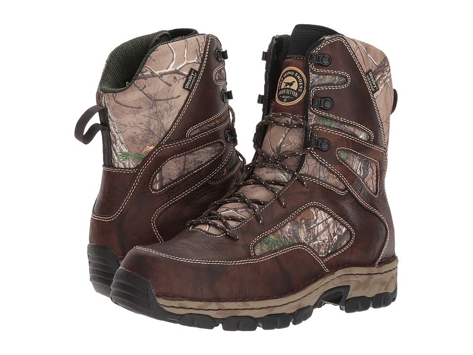 Irish Setter - Havoc XT 836 (Brown/Realtree Camo) Mens Work Boots