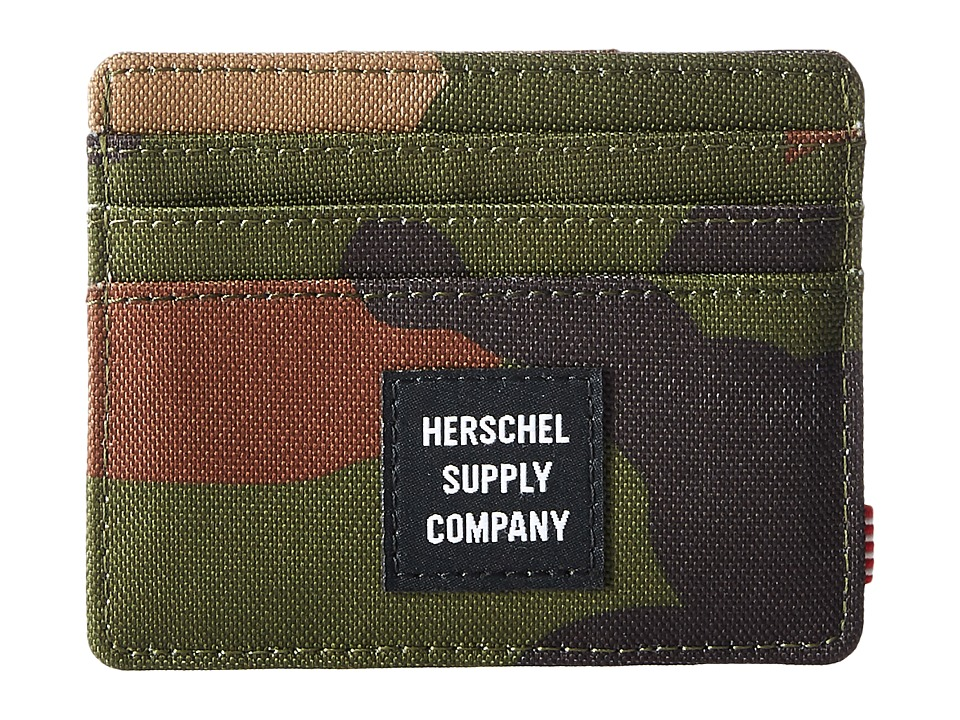Herschel Supply Co. - Felix RFID (Woodland Camo) Wallet Handbags