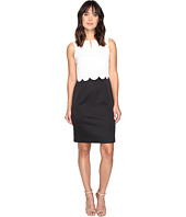 Ellen Tracy - Pique Popover Dress