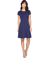 Ellen Tracy - Ponte Drop Waist Dress
