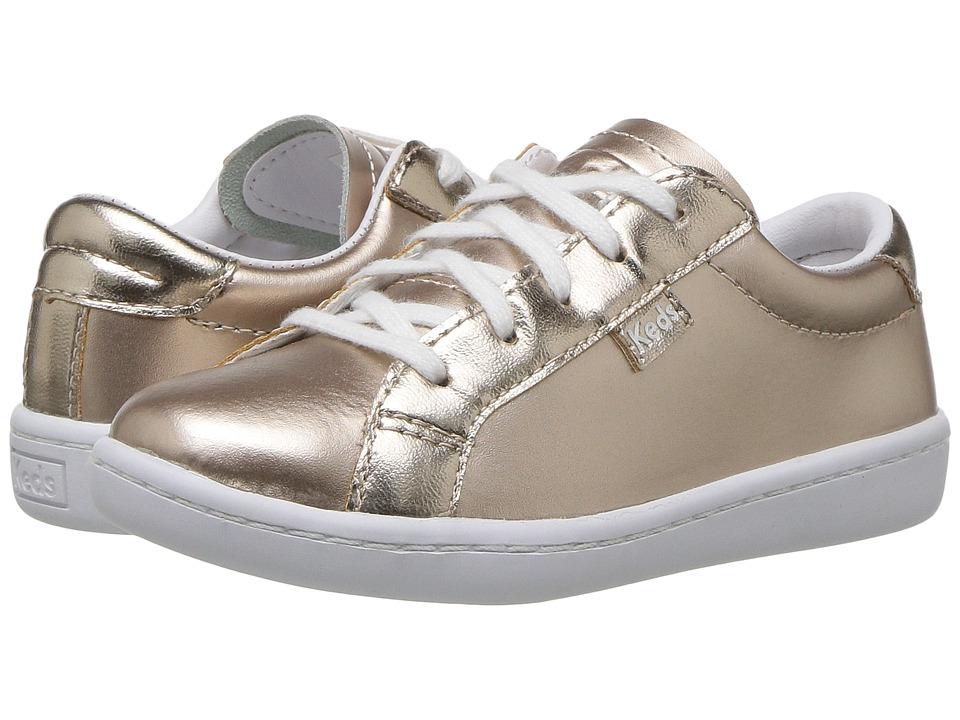 Keds Kids Ace (Toddler) (Rose Gold) Girl's Shoes