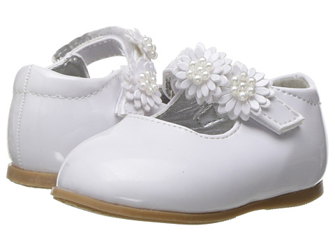 Josmo Kids Floral Mary Jane (Infant/Toddler) - White Pattern