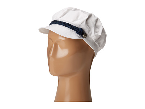 Betmar Fisherman Cap - White/Navy