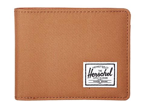 Herschel Supply Co. Hank RFID - Caramel/Tan Synethetic Leather