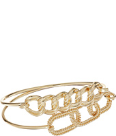 GUESS - Frozen Link Tension Bangle Duo Set