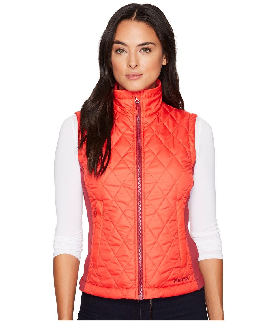 Marmot Kitzbuhel Vest (Tomato/Red Dahlia) Women