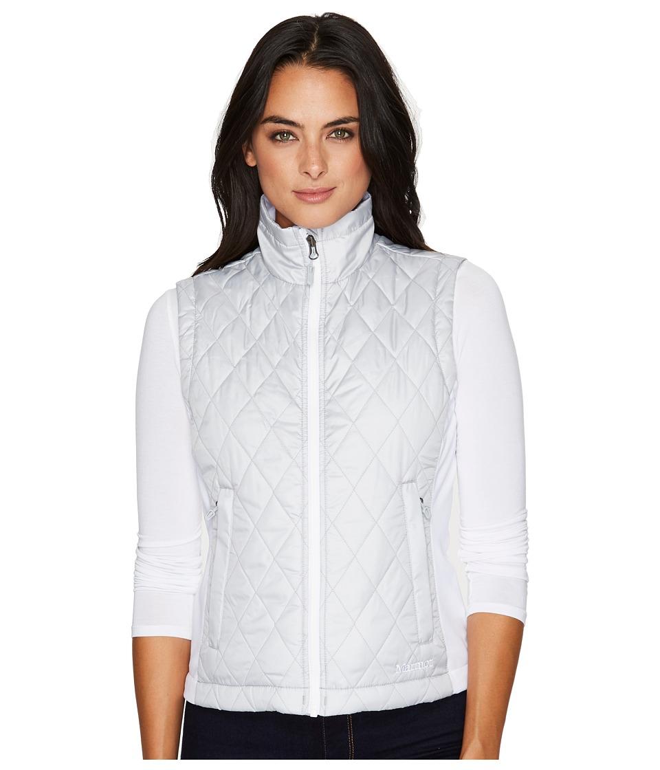 Marmot Kitzbuhel Vest (Bright Steel/White) Women