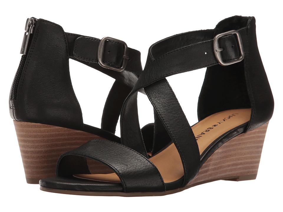 Lucky Brand Jenley (Black) Women's Shoes