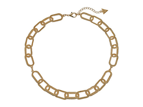 GUESS Oval Link Collar Necklace