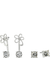 GUESS - Stud and Flower Front Back Duo Set Earrings