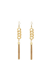 GUESS - Chain Drop with Tassel Earrings