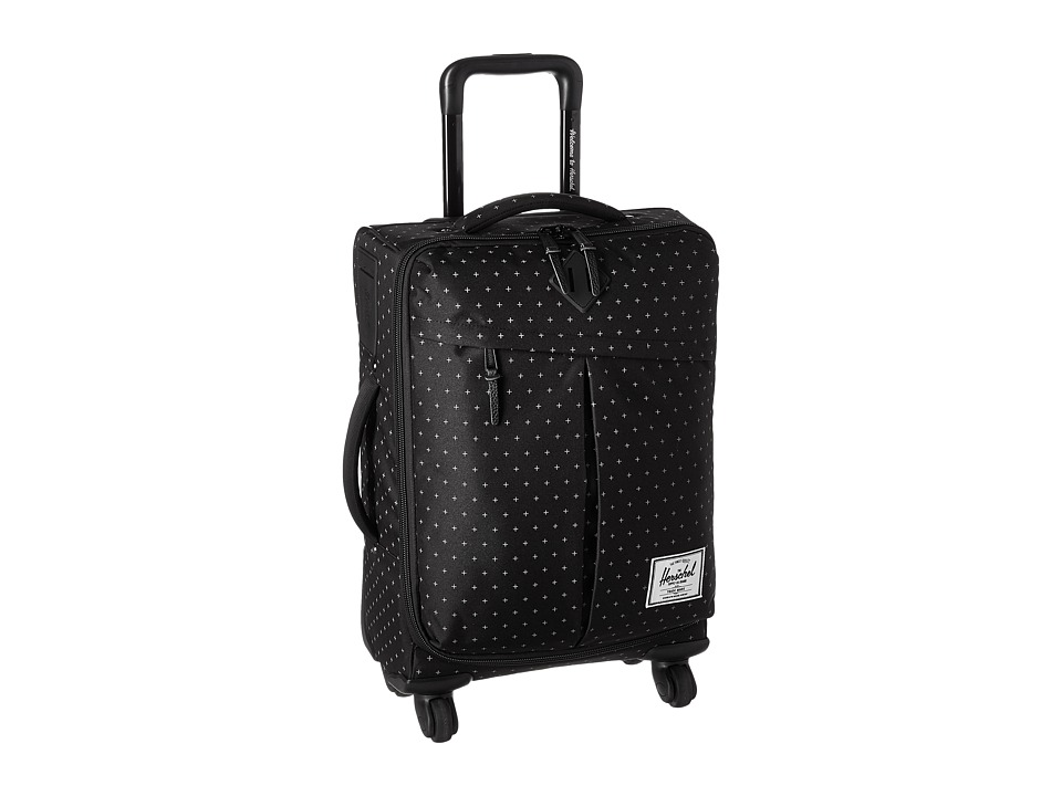 Herschel Supply Co. Highland (Black Gridlock) Carry on Luggage