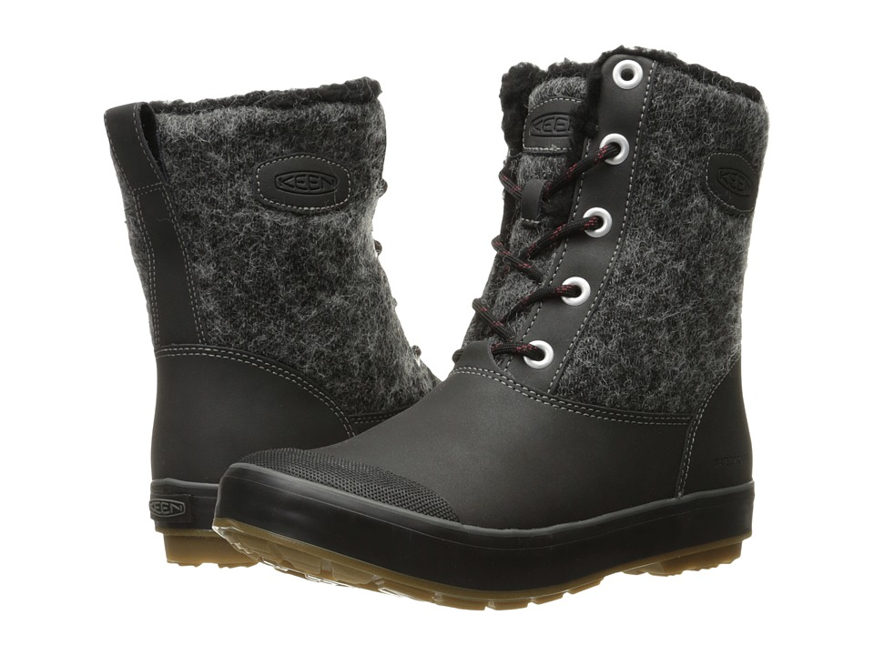 Keen Elsa Boot WP (Black Wool) Women