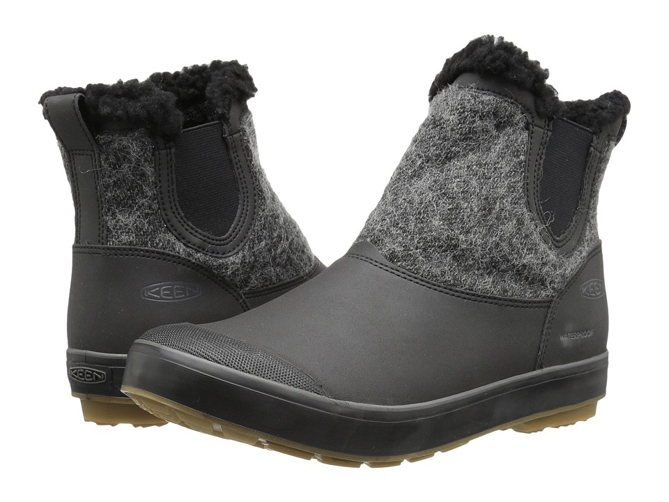Keen Elsa Chelsea Waterproof (Black Wool) Women