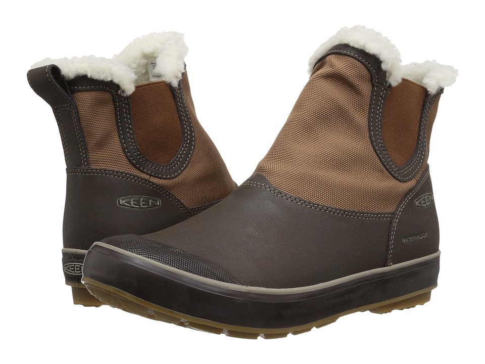 Keen Elsa Chelsea Waterproof (Coffee Bean/Monks Robe) Women
