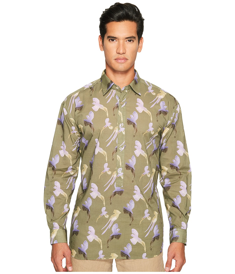Missoni - Printed Birds Button Up