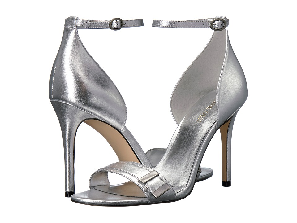 Nine West - Matteo (Silver Metallic) High Heels