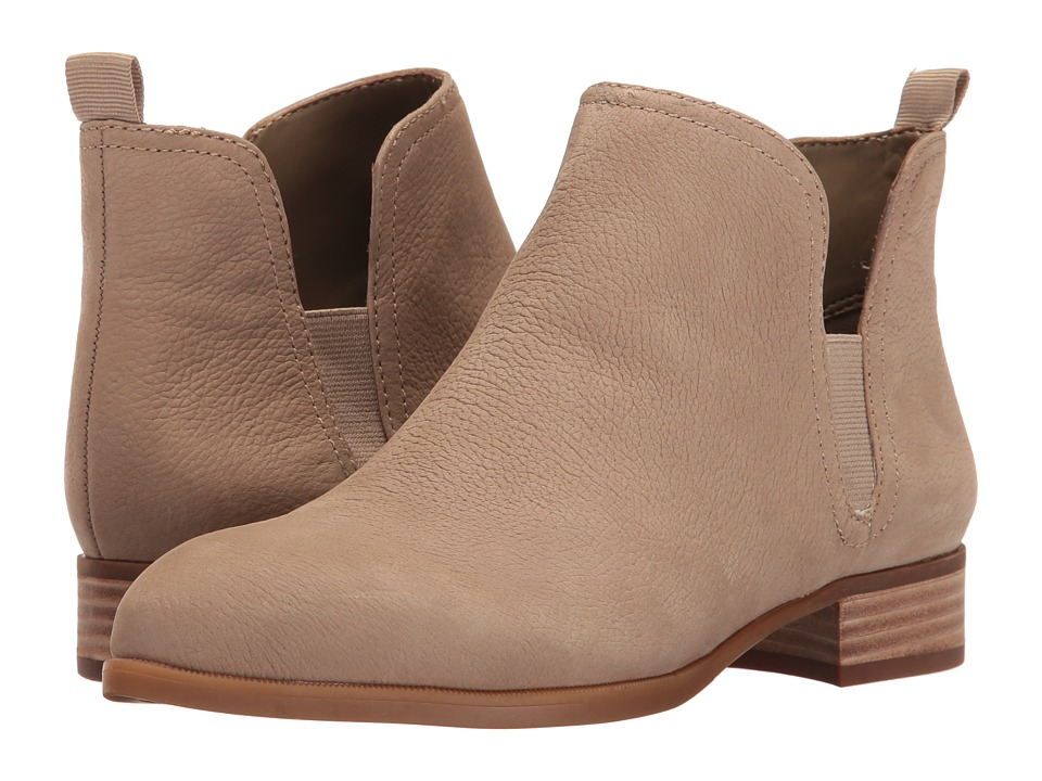 Nine West - Nesrin Casual Bootie (Taupe Leather) Womens Shoes